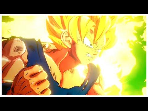 Dragon Ball Z Kakarot - Goku Turns Into Super Saiyan For The First Time Cutscene (HD)