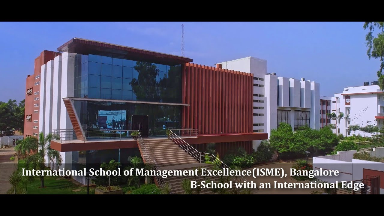 ISME: Best MBA/PGDM, BBA, PhD Colleges in Bangalore | Ranked