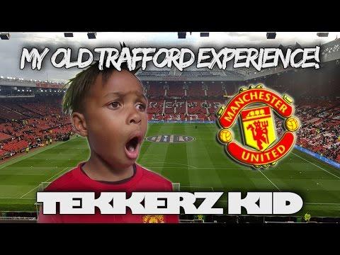 My Old Trafford Experience!! | Rooney Testimonial| Tekkerz Kid