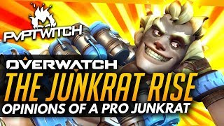 Overwatch   Is Junkrat Now GOOD? - Opinions Of A Pro Junkrat