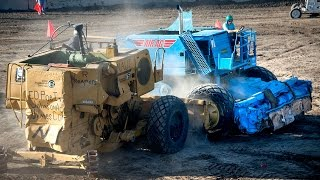 Combine Harvester Demolition Derby