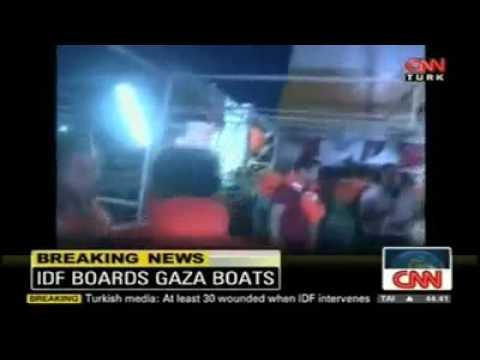 Israel attacks and kills Civilians on Freedom Flotilla, part 2/2, read description