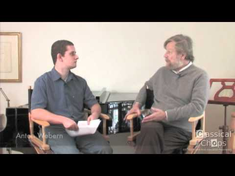 Morten Lauridsen - Advice for Young Composers