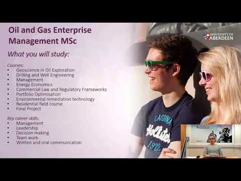 MSc Oil and Gas Chemistry Taster Session (University of Aberdeen)