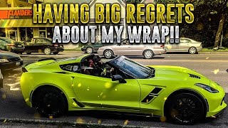 HAVING BIG REGRETS ABOUT MY WRAP!!!