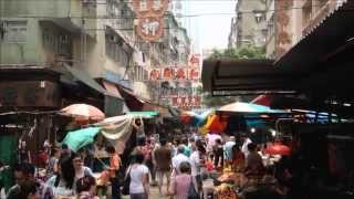 Temple Street Market & Hong Kong Red Light District