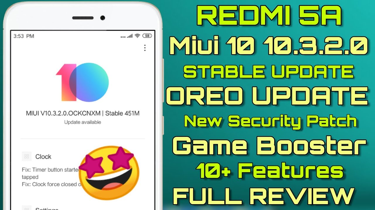 Miui 10 9 6 20 Global Beta Update Rolling Out For Redmi 5A 3D Touch Jhakkas  Update