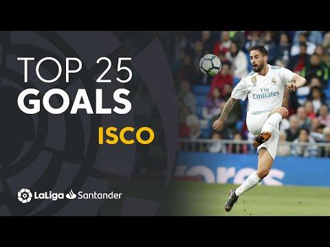 TOP 25 GOALS Isco En LaLiga Santander