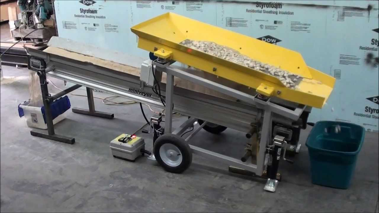 Mini Construction Equipment : Mini screener access construction equipment youtube