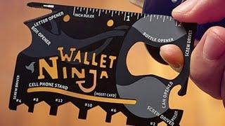 Обзор посылок:Карта нож открывалка и клиаромайзеры