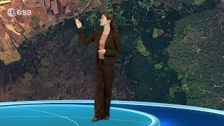 Earth from Space: Mount Kenya