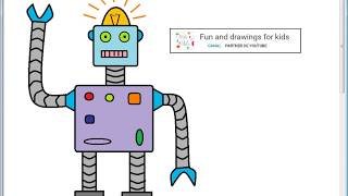 Dibujar un Automata para niños con cancion infantil