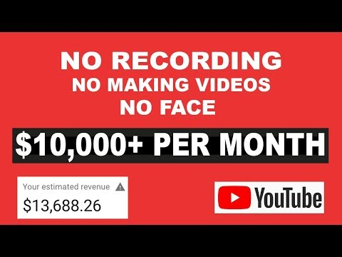 Make $11,270 Per Month On Youtube Without Recording Videos