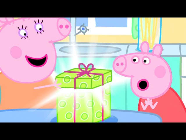 Peppa Pig Official Channel 🎁Peppa Pig Buys Present at Mr Fox's Shop