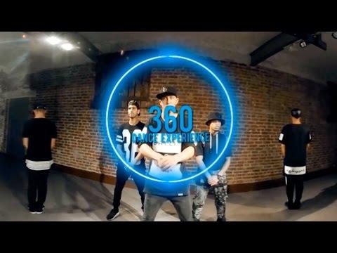 Amazing 360° DUBSTEP Dance Video!!@MattSteffanina Choreography