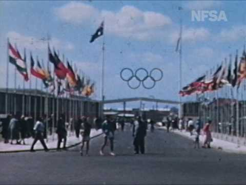 1956 Melbourne Olympics: Bruce Beresford's home movie
