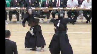 高松宮記念杯争奪 第26回全日本銃剣道選手権大会 準決勝第二試合 26th All Japan Jukendo Championships