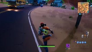 Fortnite glitch (exit and enter cannon at the same time)