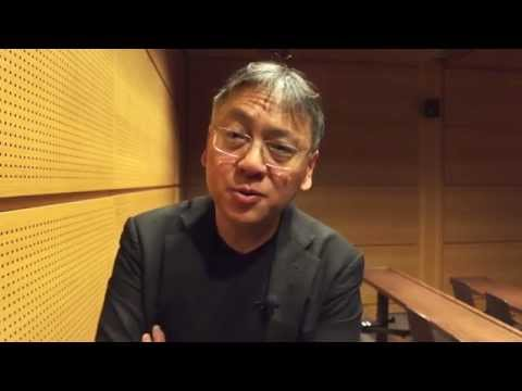 Rencontre en Sorbonne avec l'écrivain Kazuo Ishiguro