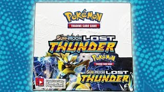 POKEMON LOST THUNDER BOOSTER BOX OPENING!!!