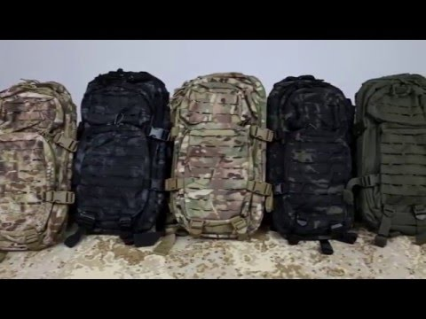 2ae22ac07 Ruksak Assault 20L Laser, Miltec (SK) - YouTube