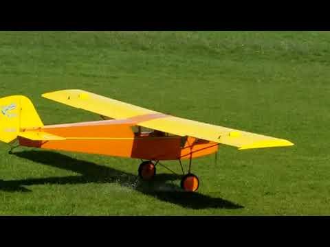 George's 1/4 scale Curtiss Robin