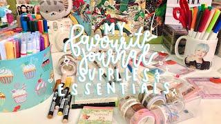 favorite kpop journaling supplies + essentials!