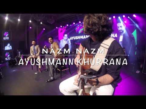 Nazm Nazm Unplugged- Ayushmann Khurrana   Chaitanya Bhaidkar   GoPro Guitar Cam