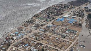 Flood sirens sound in Fort Simpson, N.W.T.