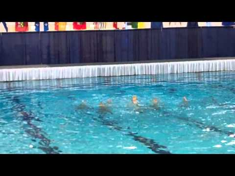 Team Alberta Synchro Swimming Silver Medal Winning Routine