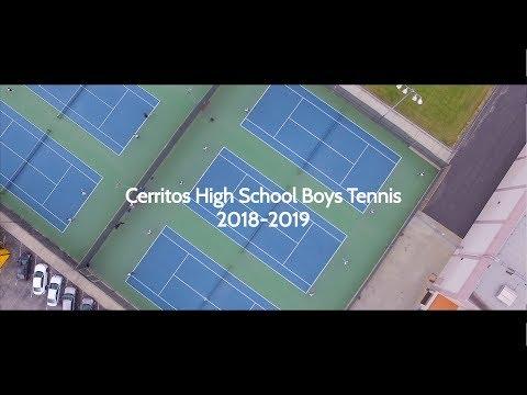 Cerritos High School Boys Tennis Showcase Video 2018-19