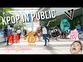 DANCING KPOP IN PUBLIC CHALLENGE | BTS,IOI,SHINee,TWICE  [Charissahoo]
