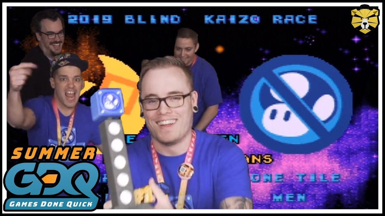 Summer Games Done Quick 2019 Smw Blind Kaizo Race