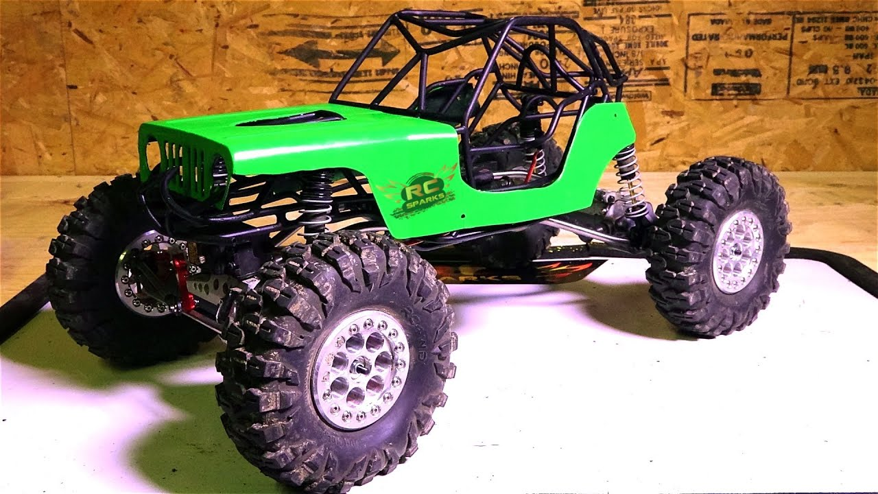 RC ADVENTURES - Black Sheep Customs Bouncer Tube Cage ...