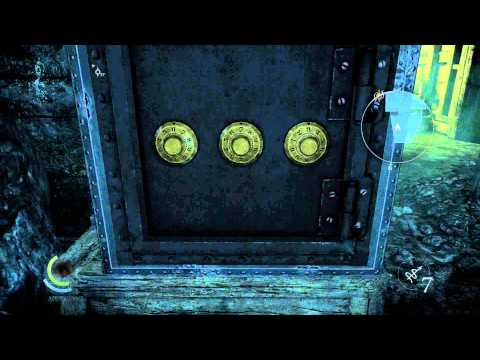 Thief - Chapter 7 The hidden City Loading Docks Exterior  Safe Combination Code