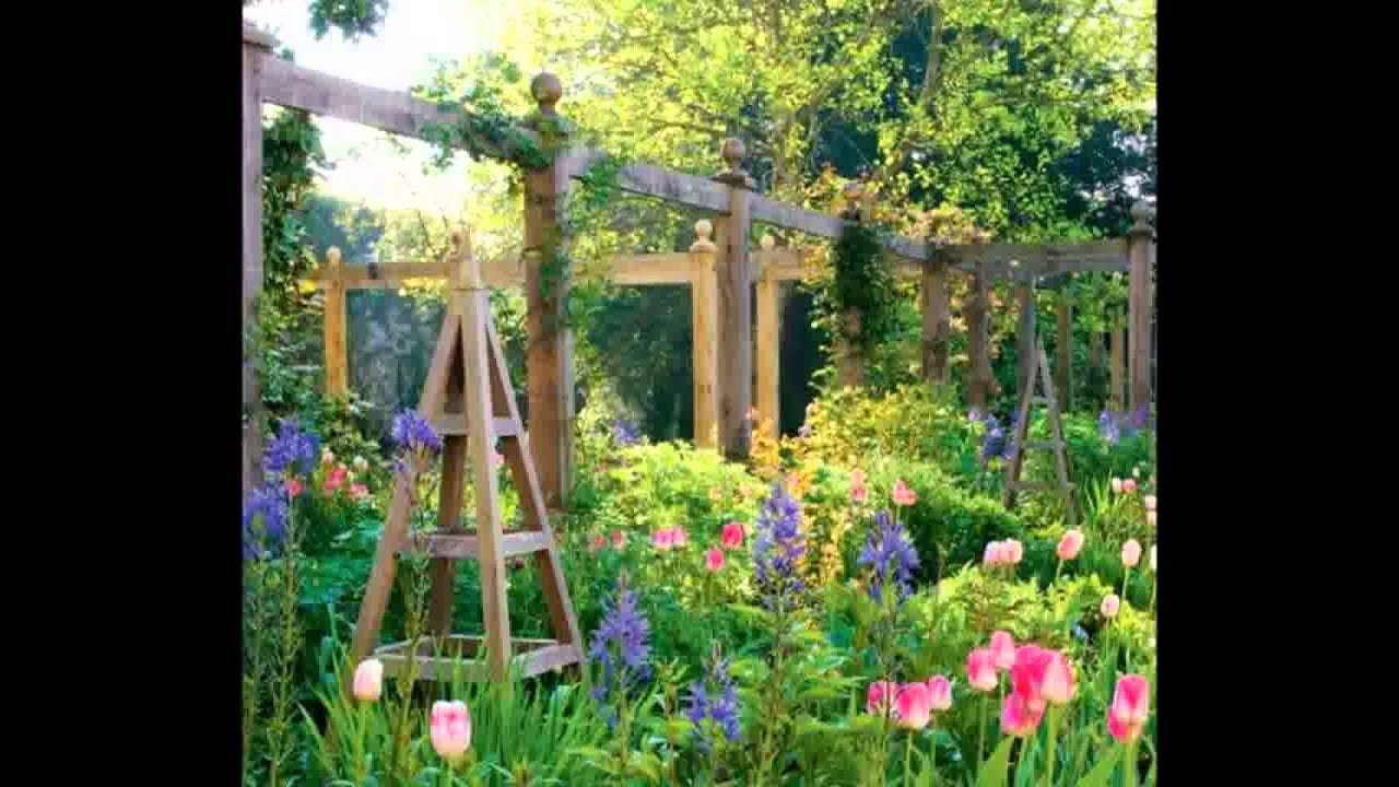 English Home Garden Landscaping Ideas [HD]   YouTube
