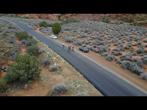 Snow Canyon, St. George, Utah- (Biking) DJI Mavic Pro- Active Track