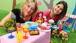 Oyuncak Kafe. Yaza merhaba partisi yapıyorsuz! Çocuk videosu