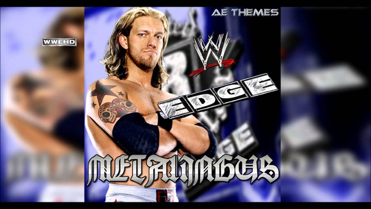 WWE Soundtrack - Edge Theme Song - YouTube