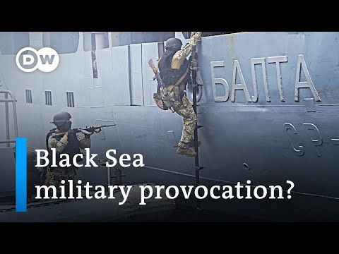 NATO exercises in the Black Sea raise tensions with Russia | DW News
