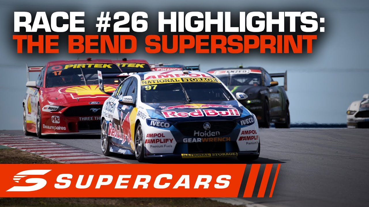 Download Highlights: Race #26 - The Bend SuperSprint | Supercars 2020
