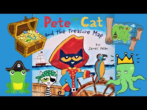 Pete The Cat And The Treasure Map - (Read Aloud)