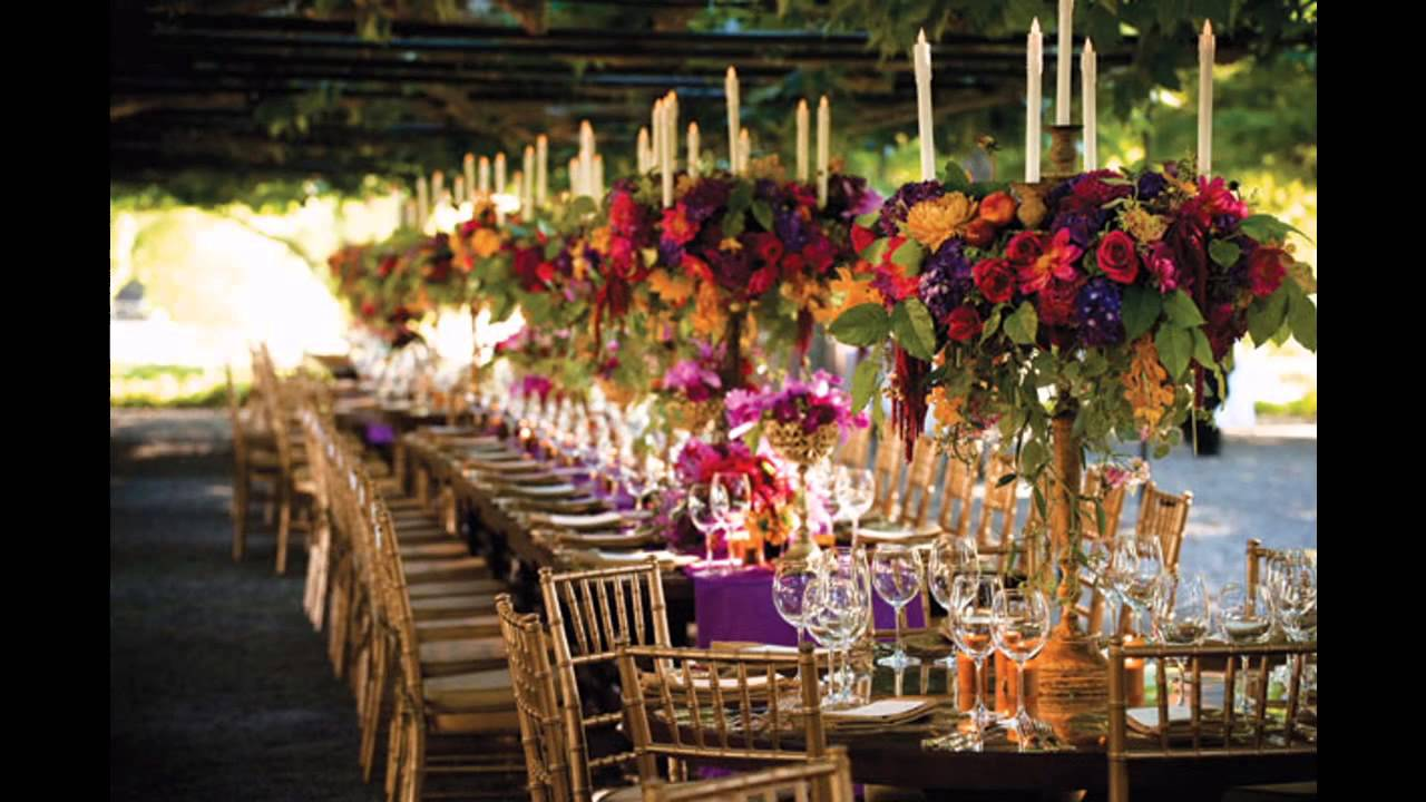 Elegant fall wedding ideas - YouTube