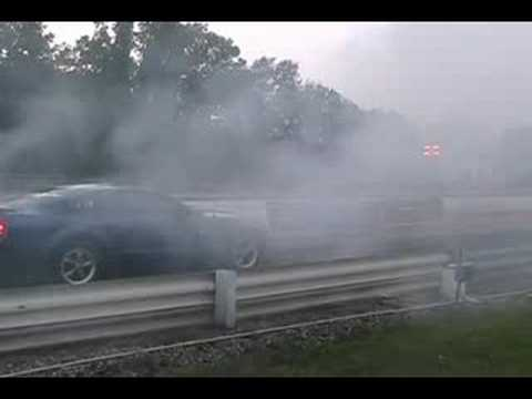 Mustang, nitrous, DR's with 40psi