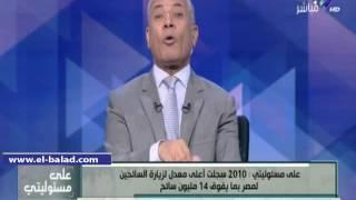 بالفيديو.. موسى: '23 مليون تكلفة حملة «مصر في قلوبنا» ومجبتش 3 سياح'