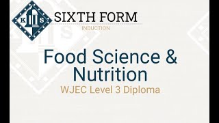 Food Science and Nutrition Induction
