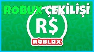 100 ABONEYE ÖZEL ROBUX ÇEKİLİŞİ (BİTTİ) / ROBLOX TÜRKÇE