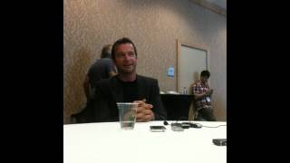 Comic Con 2012: James Purefoy talks THE FOLLOWING