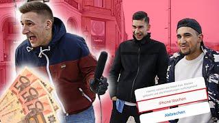 FÜR 50EURO HANDY ZURÜCKSETZEN! 📲  STREET COMEDY | urgeON