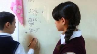 Урок математики 26-ой школы 5-ый класс
